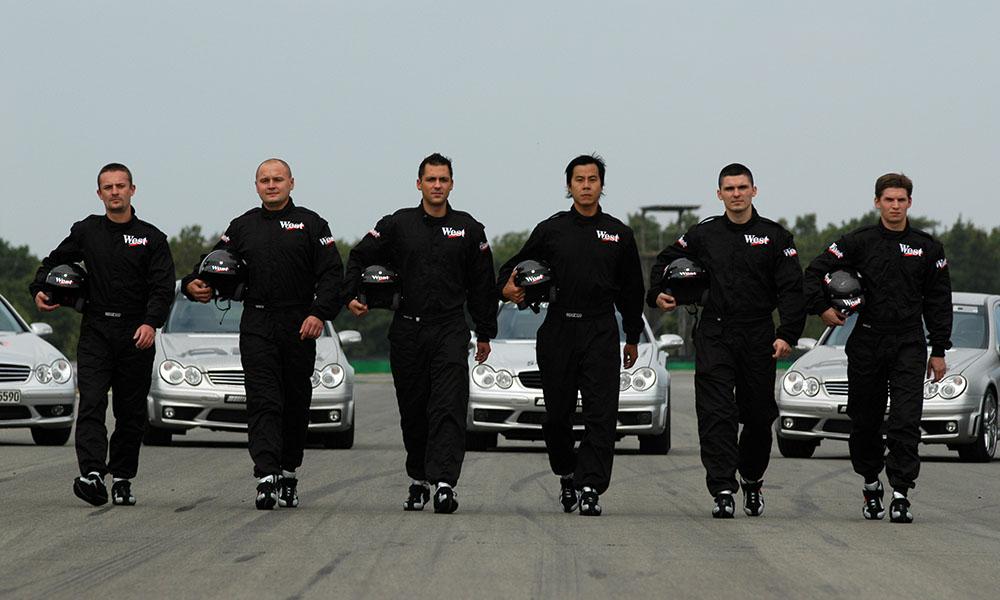 Fot. HOCH ZWEI / West Race Day 2004, 6 kierowców walczyło o test bolidu F1
