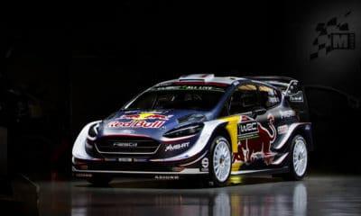 Ford M-Sport WRC - Sebastien Ogier 2018