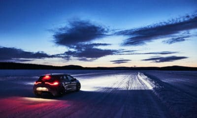 Renault śnieg