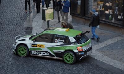 Jan Kopecky - Skoda Fabia R5 Taxi