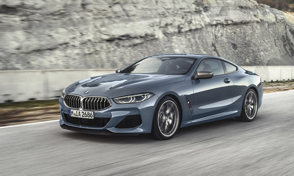 BMW serii 8 - rodzaje coupe