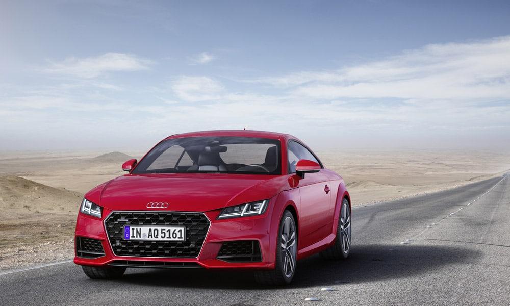 Nowe Audi Tt I Audi Tts Odświeżenie Ikony Stylistyki Motohighpl
