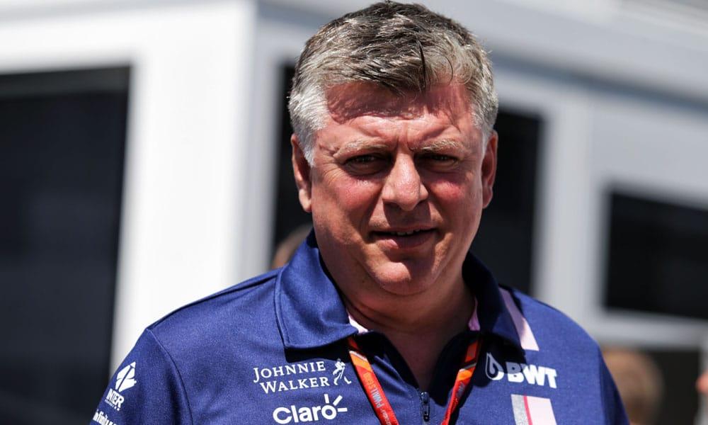 Otmar Szafnauer o Aston Martin w F1