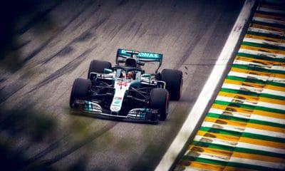 Lewis Hamilton - Brazylia 2018