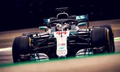 Lewis Hamilton - GP Brazylii 2018