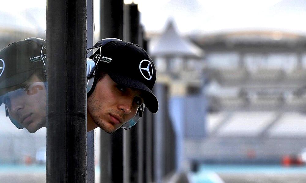 Esteban Ocon Mercedes 2019