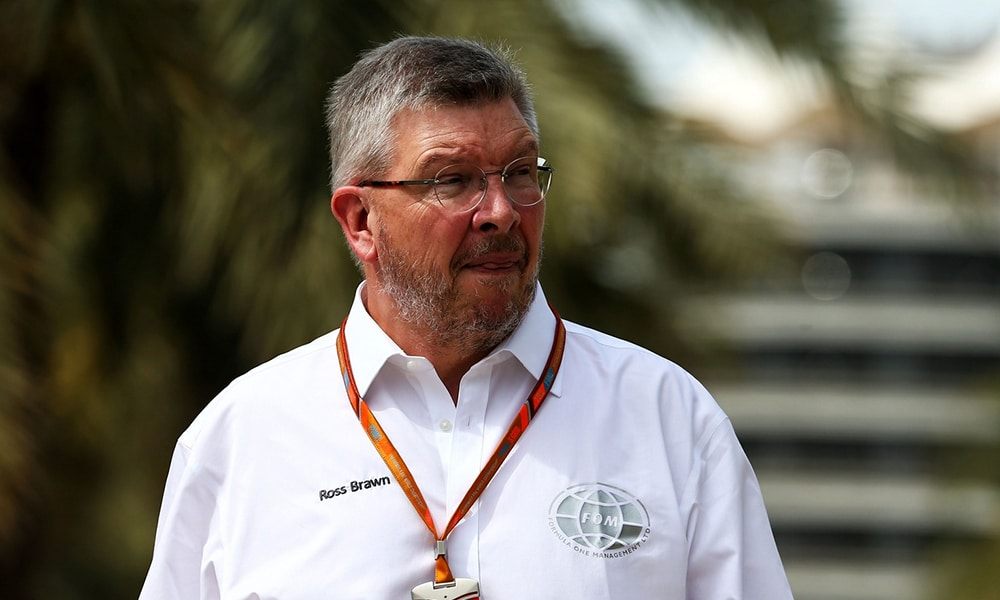 Ross Brawn F1 FOM