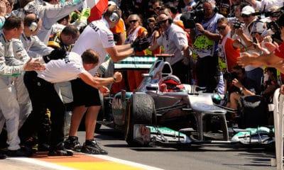 Michael Schumacher GP Europy 2012 wpływ Schumachera
