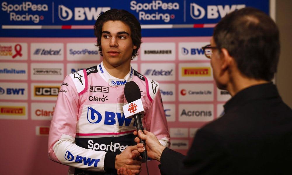 Lance Stroll SportPesa Racing Point F1 Team Launch