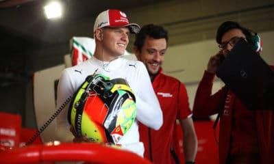 Mick Schumacher Ferrari driver academy