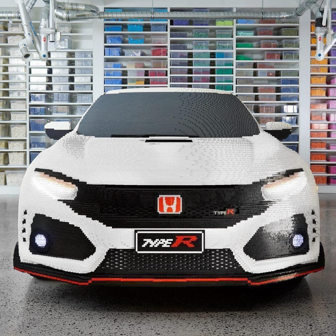 Pełnowymiarowa Honda Civic Type R Z Klocków Lego (video