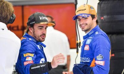 Alonso Fernando Sainz Carlos Bahrajn 2019 testy F1