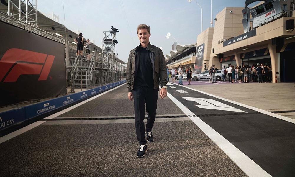Nico Rosberg 2019 GP Bahrajnu padok