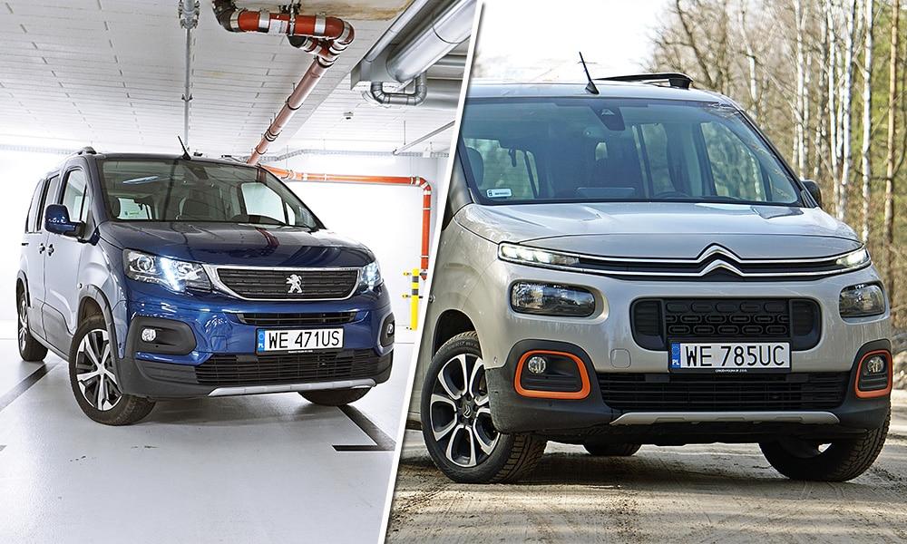Citroen Berlingo (2019) i Peugeot Rifter (2019)