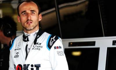 Robert Kubica GP Azerbejdżanu 2019
