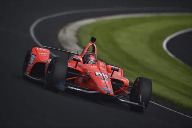 Marco Andretti podczas kwalifikacji do Indy500