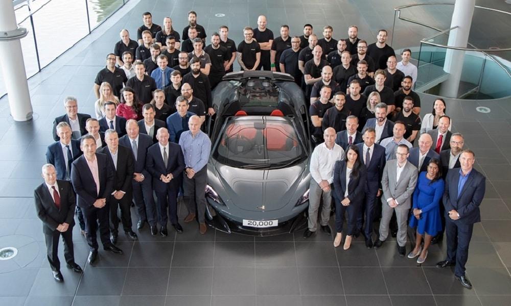 20 000 mil brytyjskiej żeglugi - McLaren