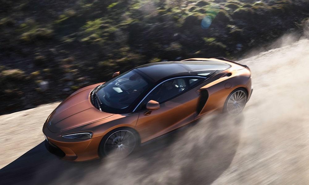 McLaren GT - z zewnątrz