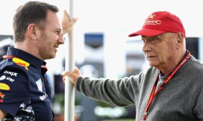Niki Lauda i Christian Horner