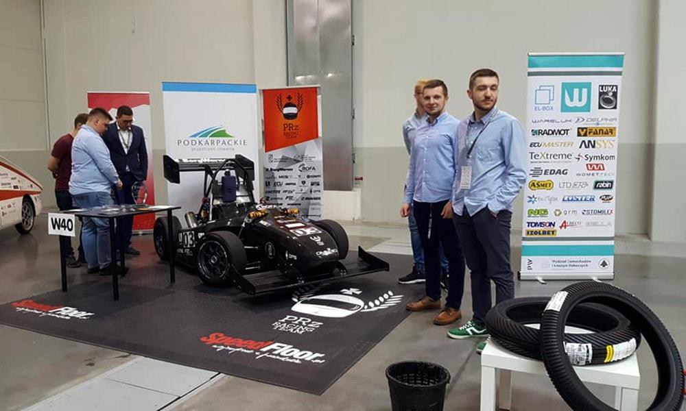 PRz Racing Team - Formuła Student - Kraków Moto Show 2019