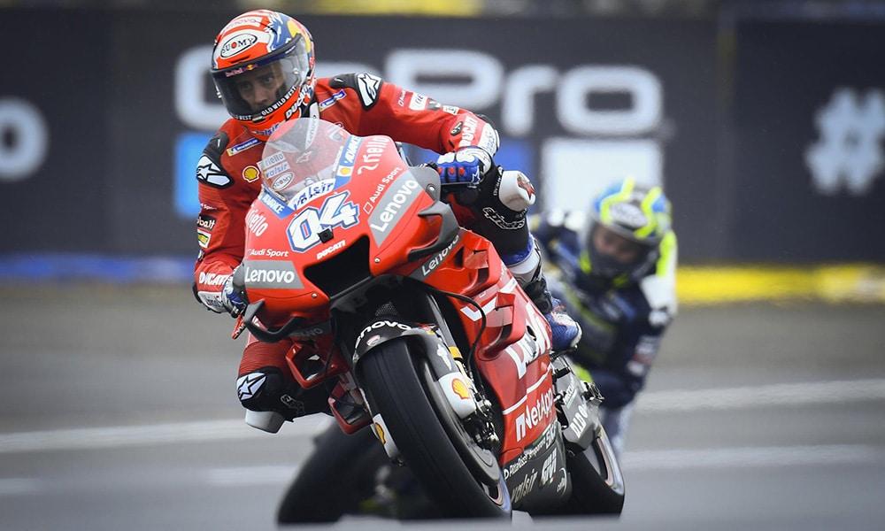 Andrea Dovizioso podczas GP Francji 2019
