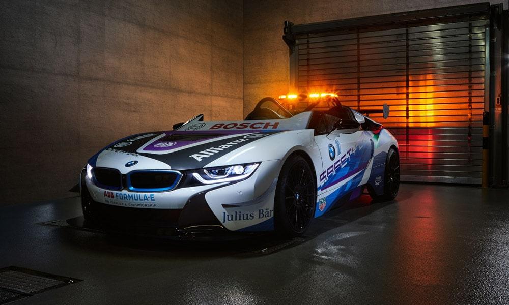 BMW i8 Roadster - samochód bezpieczeństwa w Formule E