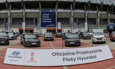 Przekazanie floty samochodów Hyundai | MŚ U-20 Polska 2019
