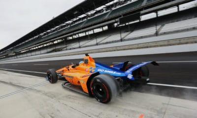Test Fernando Alonso - McLaren Indycar