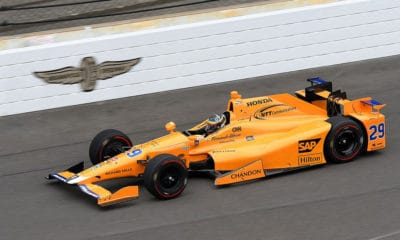 Fernando Alonso McLaren by Andretti Autosport (Indianapolis 500, 2017 rok)