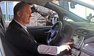 Prezydent Szczecina Nissan Leaf 2019