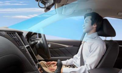 system wspomagania kierowcy Nissan