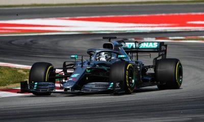 Testy opon Pirelli 2019 - Barcelona - II dzień - Nikita Mazepin w Mercedesie