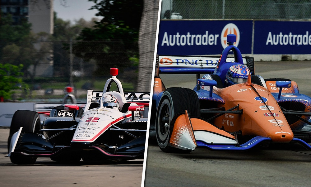 Detroit Indy GP 2019 - newgarden dixon