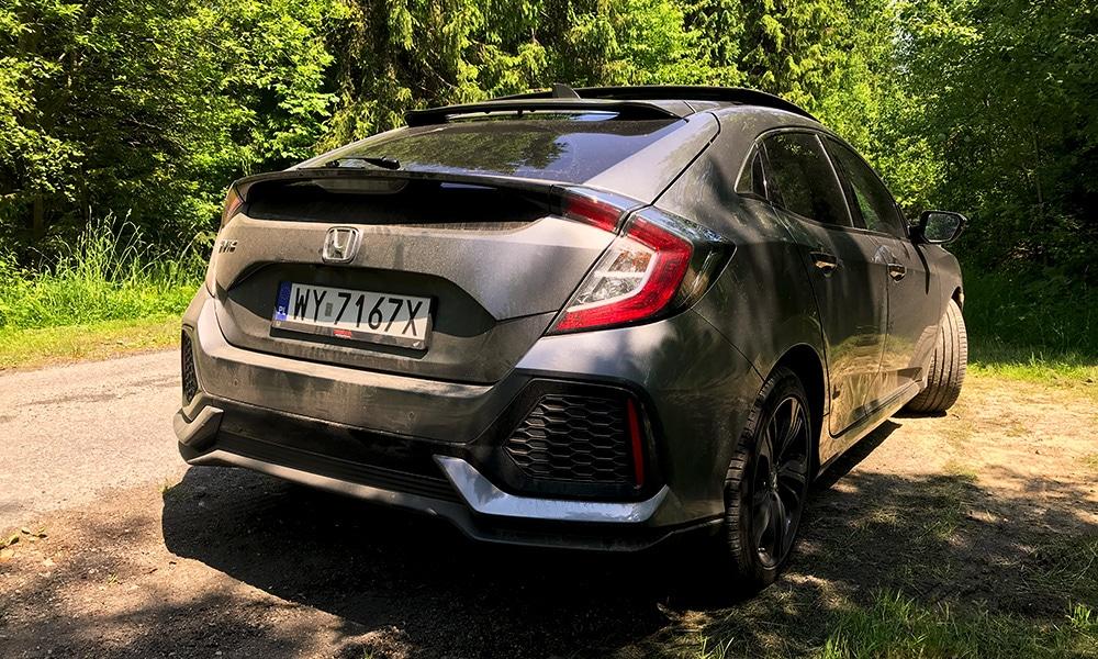 Honda Civic - tył
