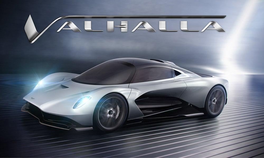 Aston Martin Valhalla - projekt