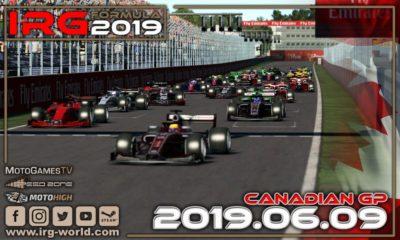IRG Formula 2019 - GP Kanady