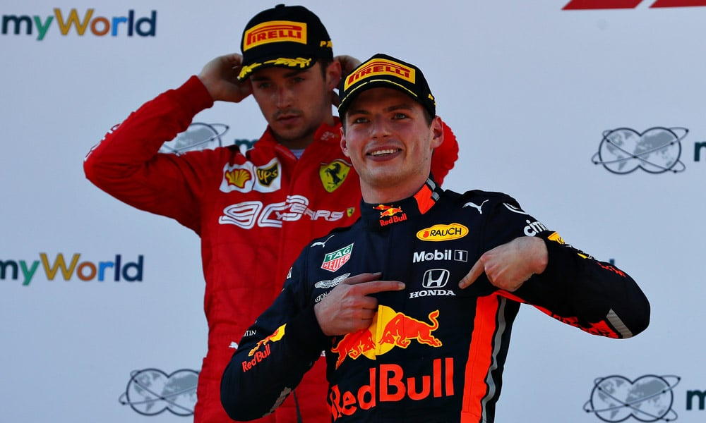 Max Verstappen - Honda (GP Austrii 2019)