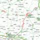 Mapa drogowa ze wspomnianymi fragmentami S5