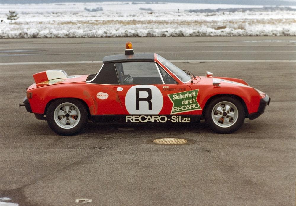 Porsche 914/6 GT (1972), samochód bezpieczeństwa ONS w 1973 r.