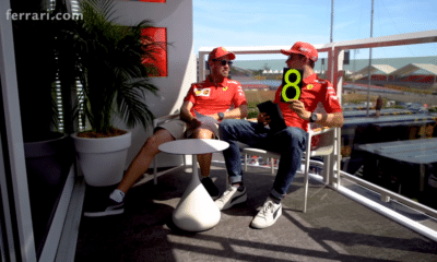 Sebastia Vettel i Charles Leclerc - GP Francji 2019