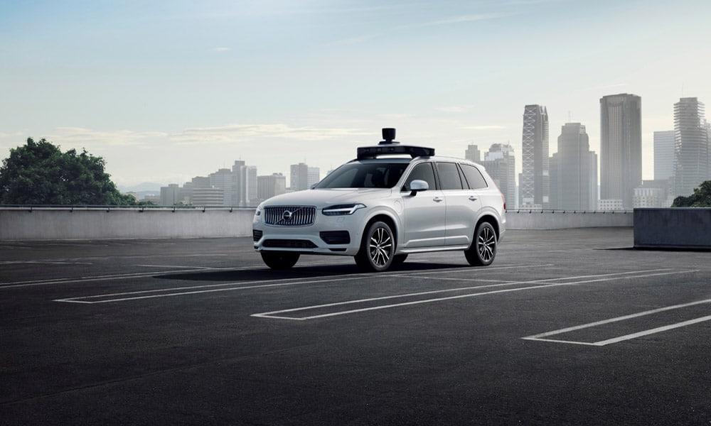XC90 - Volvo i Ubier z autonomicznym samochodem gotowym do produkcji