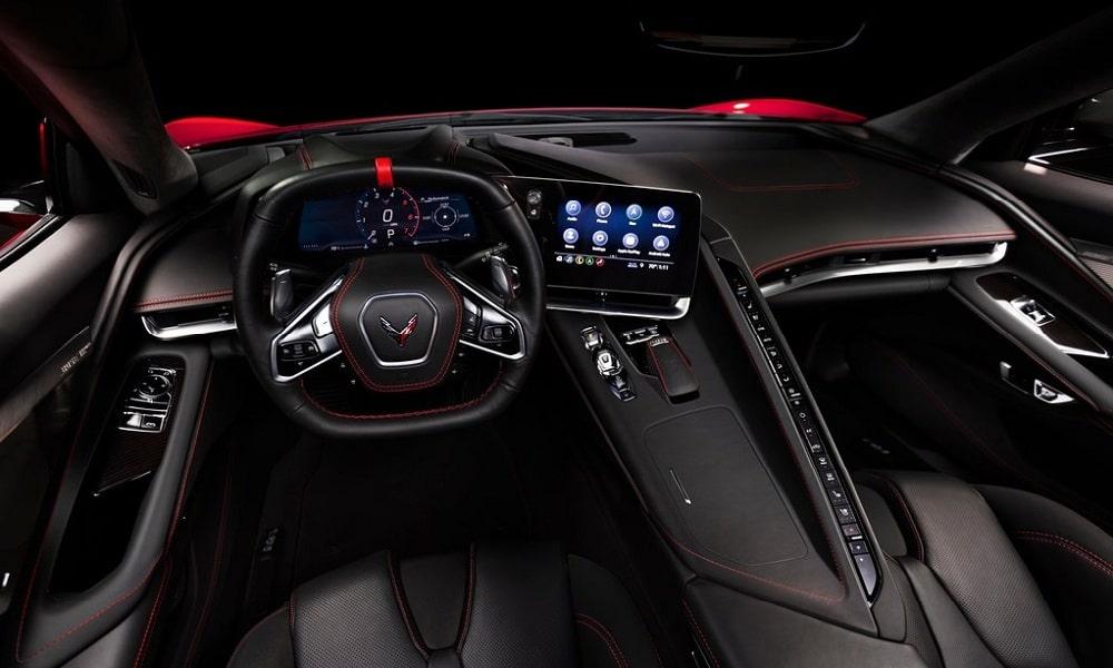 Corvette C8 Stingray - wnętrze