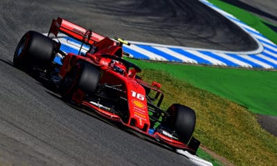 Ferrari Charles Leclerc GP Niemiec 2019 treningi