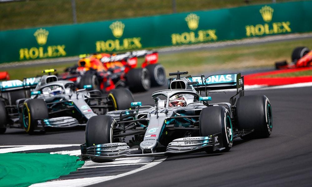 Podwójne wyścigi Silverstone Hamilton 2019 gdzie oglądać gp wielkiej brytanii