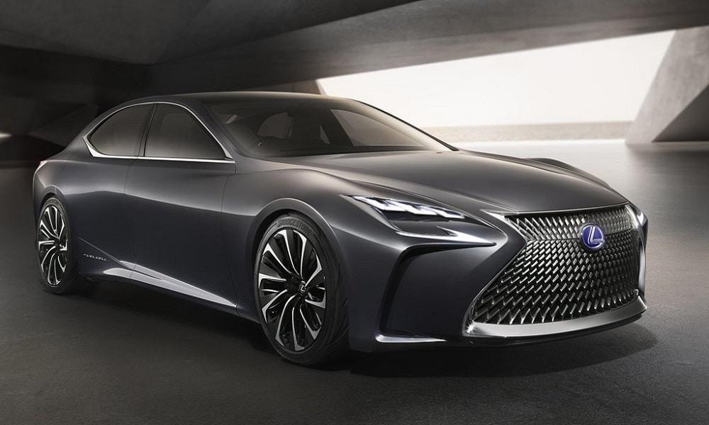 Lexus LF-FC Concept - koncept modelu z napędem wodorowym