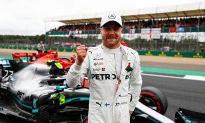Valtteri Bottas 2019 PP Silverstone