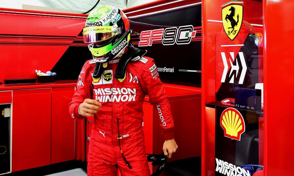 Mick Schumacher - Scuderia Ferrari - Bahrajn 2019