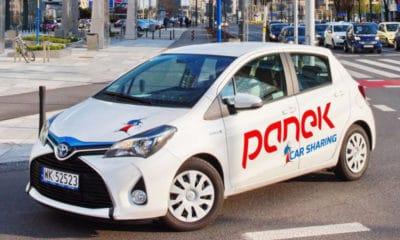 Panek Car Sharing - Toyota