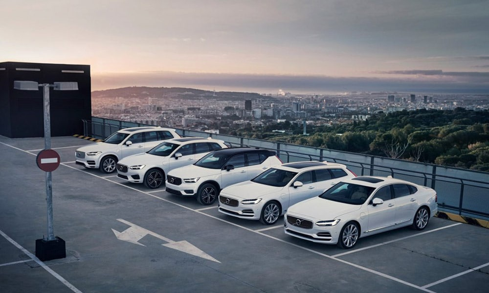 Volvo - sprzedaż - 1H 2019