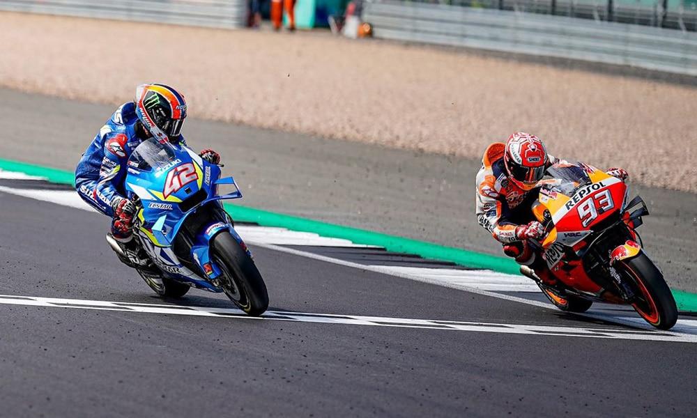 Alex Rins: Marc Marquez uważa mnie za swojego rywala | Grand Prix Wielkiej Brytanii i Australii MotoGP odwołane